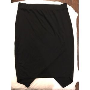 Black Torrid pencil skirt